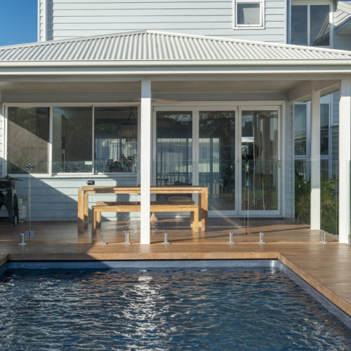 Pool with Exterior 500x500 - Lake Macquarie Builders