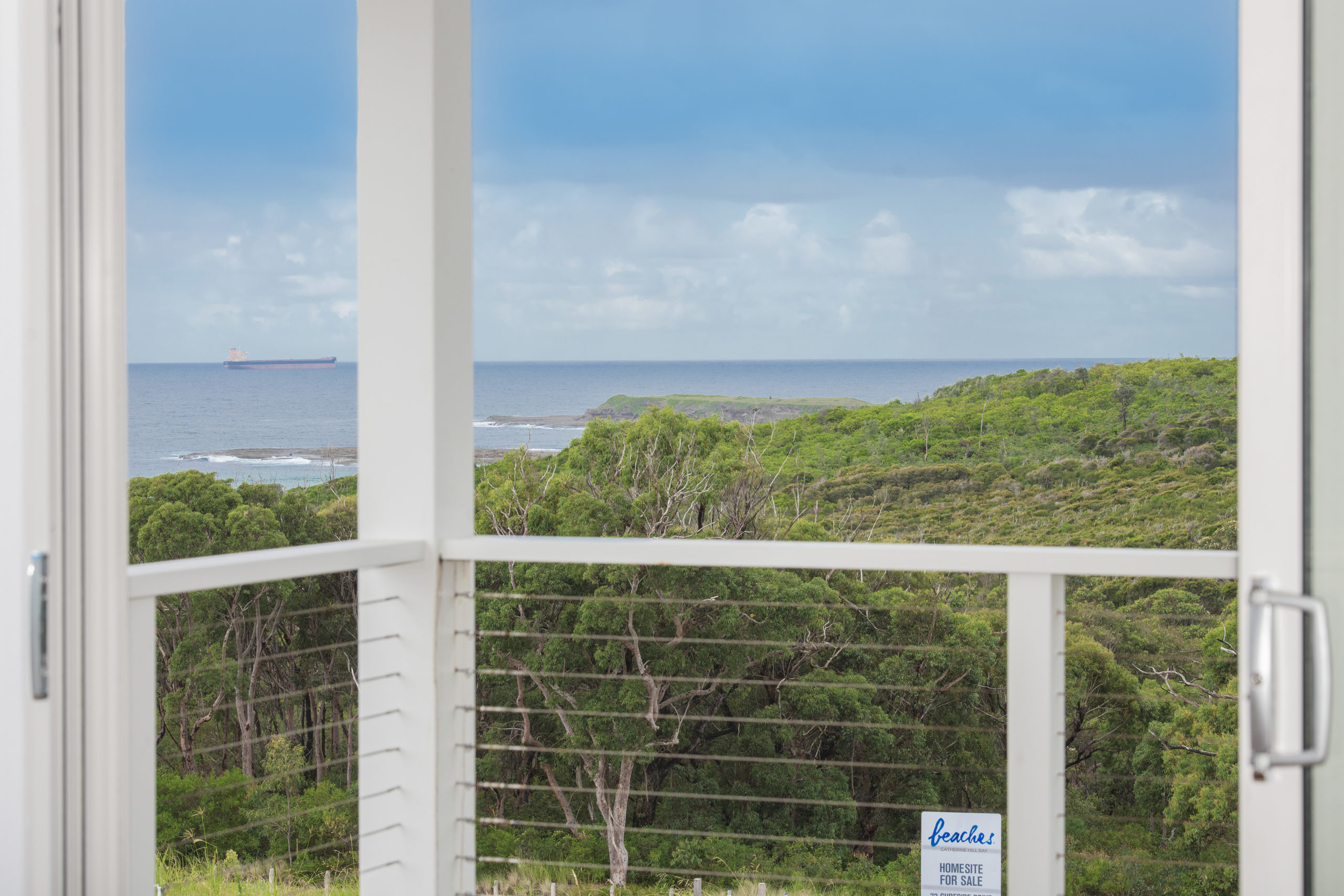 front verandah beach view